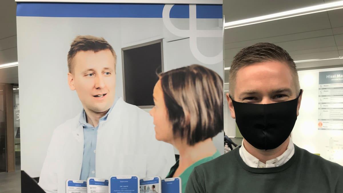 Harjun terveyden käynnistysvaiheen toimitusjohtaja Joonas Turunen