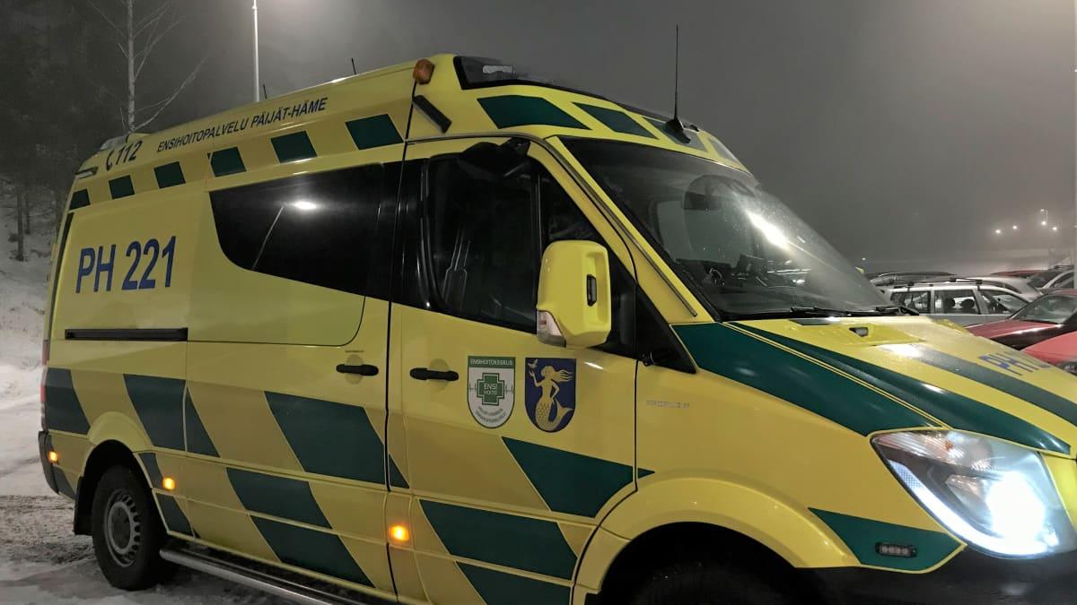 Päijät-Hämeen hykyn ambulanssi