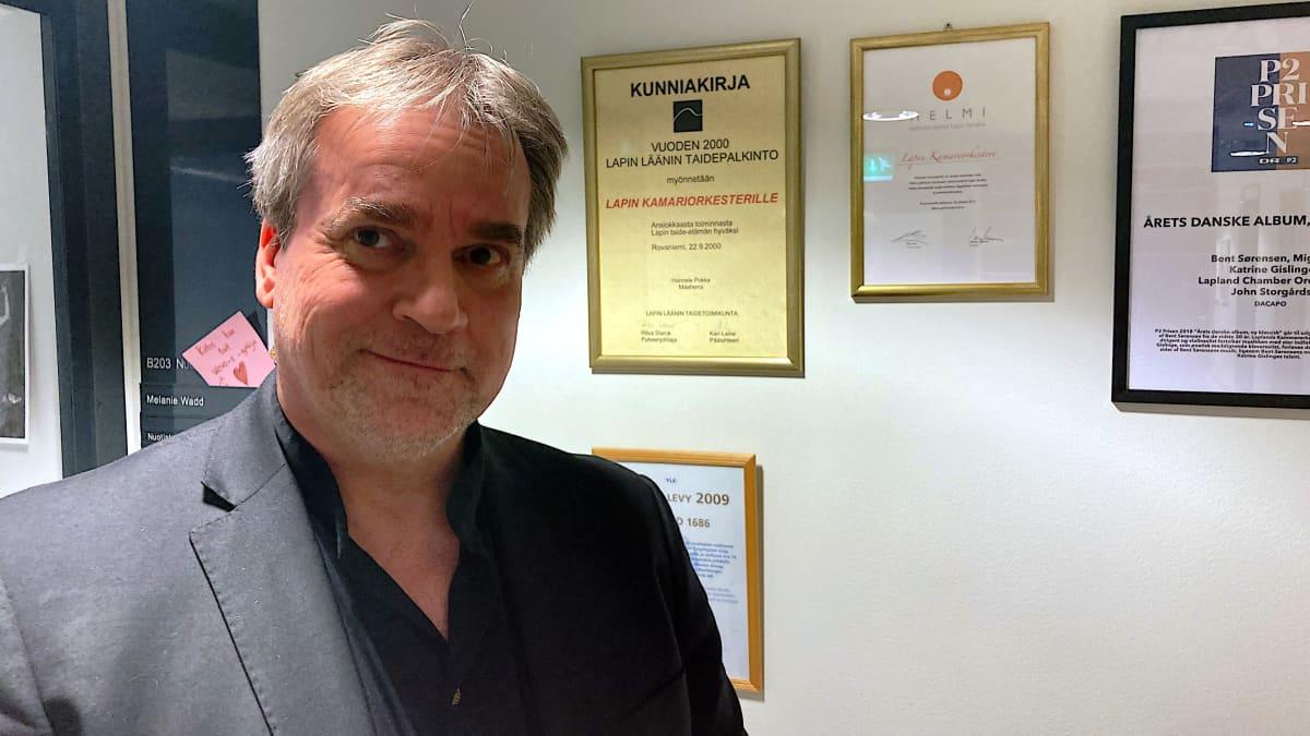 Lapin kamariorkesteri ehdolla vuoden klassinen levy -palkinnon saajaksi Emma-gaalassa