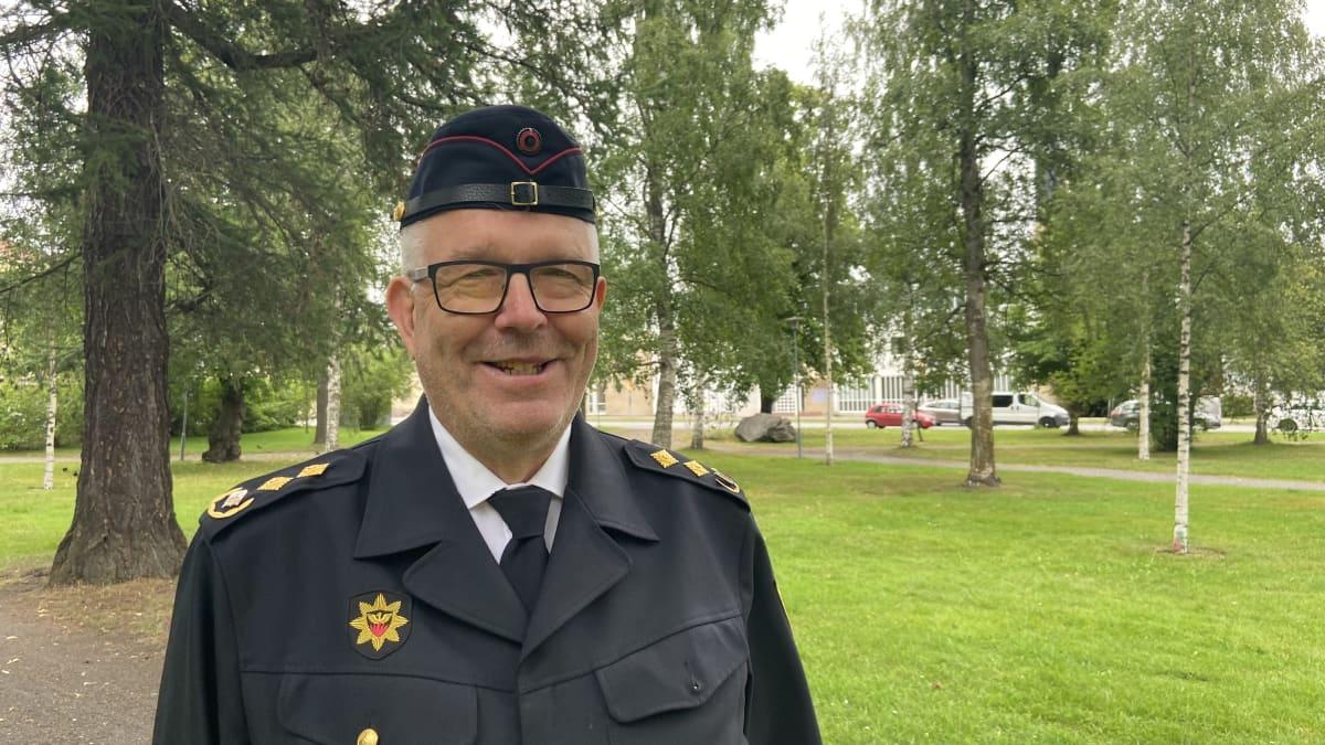Pelastusjohtaja Jaakko Pukkisen mukaan uusi innostus palokuntatyöhön näkyy koko maassa.