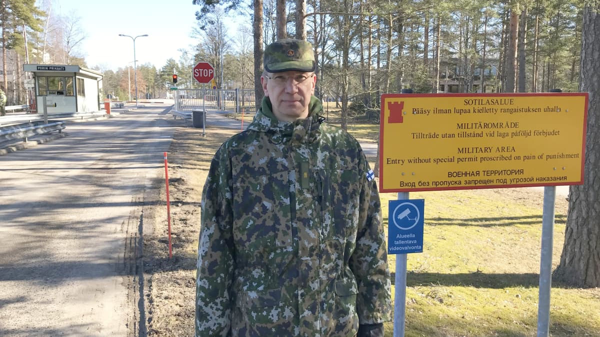 Porin prikaatin komentaja, prikaatikenraali Mika Kalliomaa