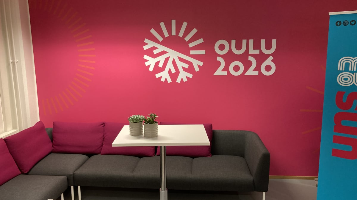 Tiedotustilaisuuden järjestyspaikka Oulussa.