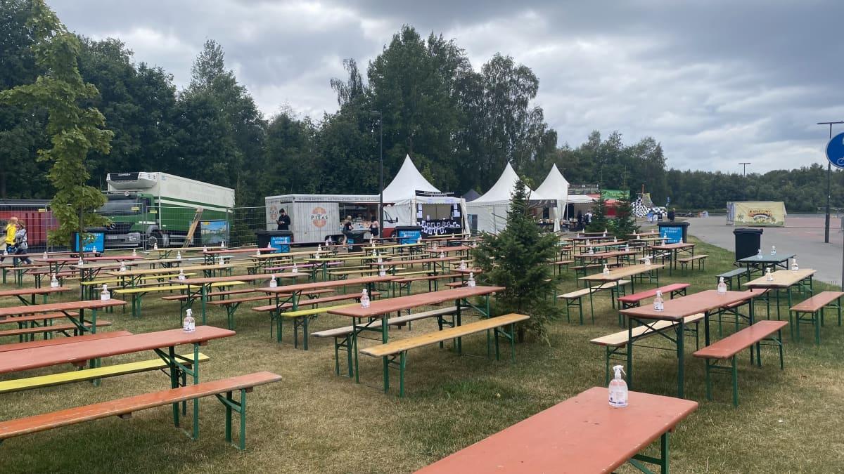 Pöytiä Qstockissa 2021