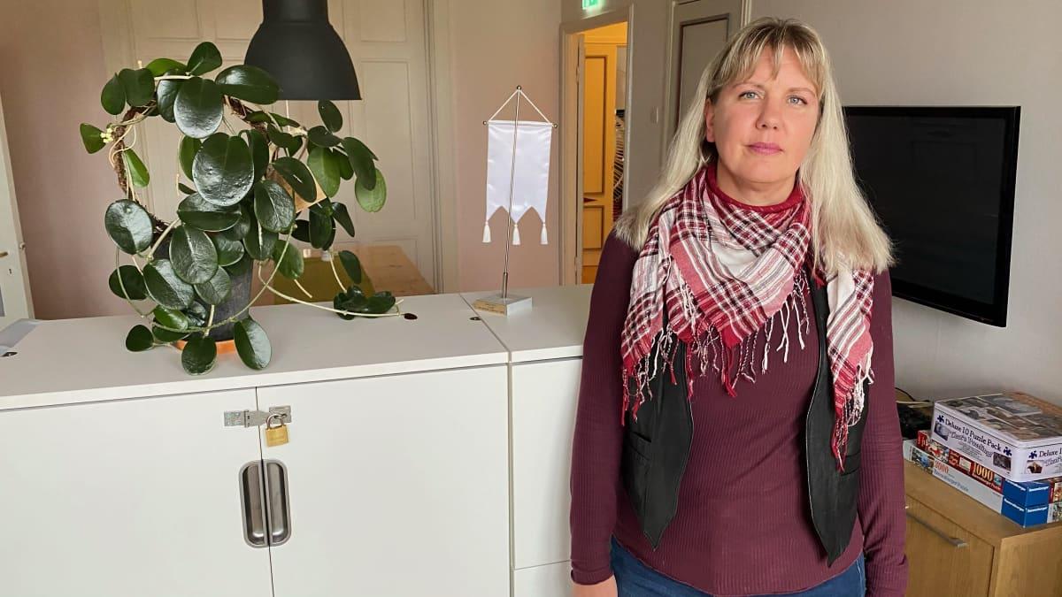 SPR:n Turun nuorten turvatalon koordinaattori Susanne Etholen-Rättö