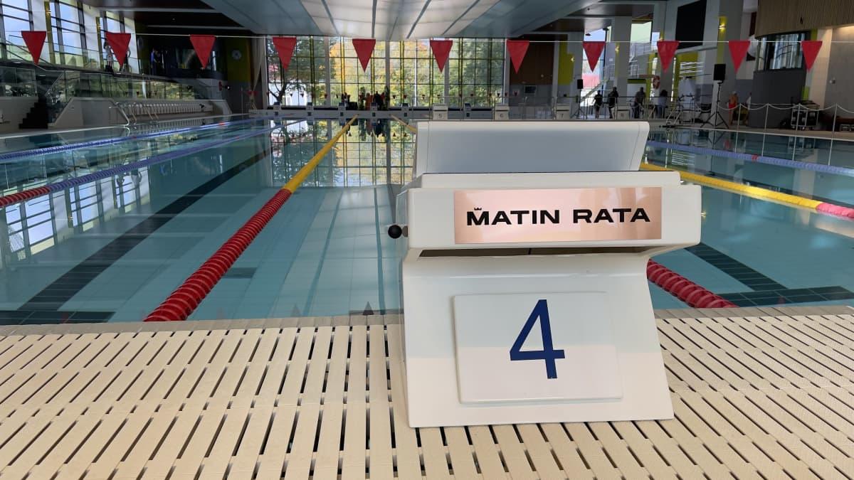 Matti Mattssonin nimikoitu uimarata