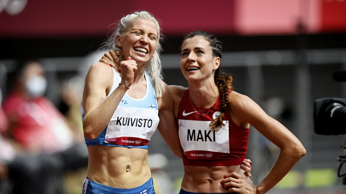 Sara Kuivisto juoksi 1500 metrin Suomen ennätyksen