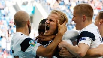 Huuhkajien kotiinpaluu jalkapallon EM-kisoista