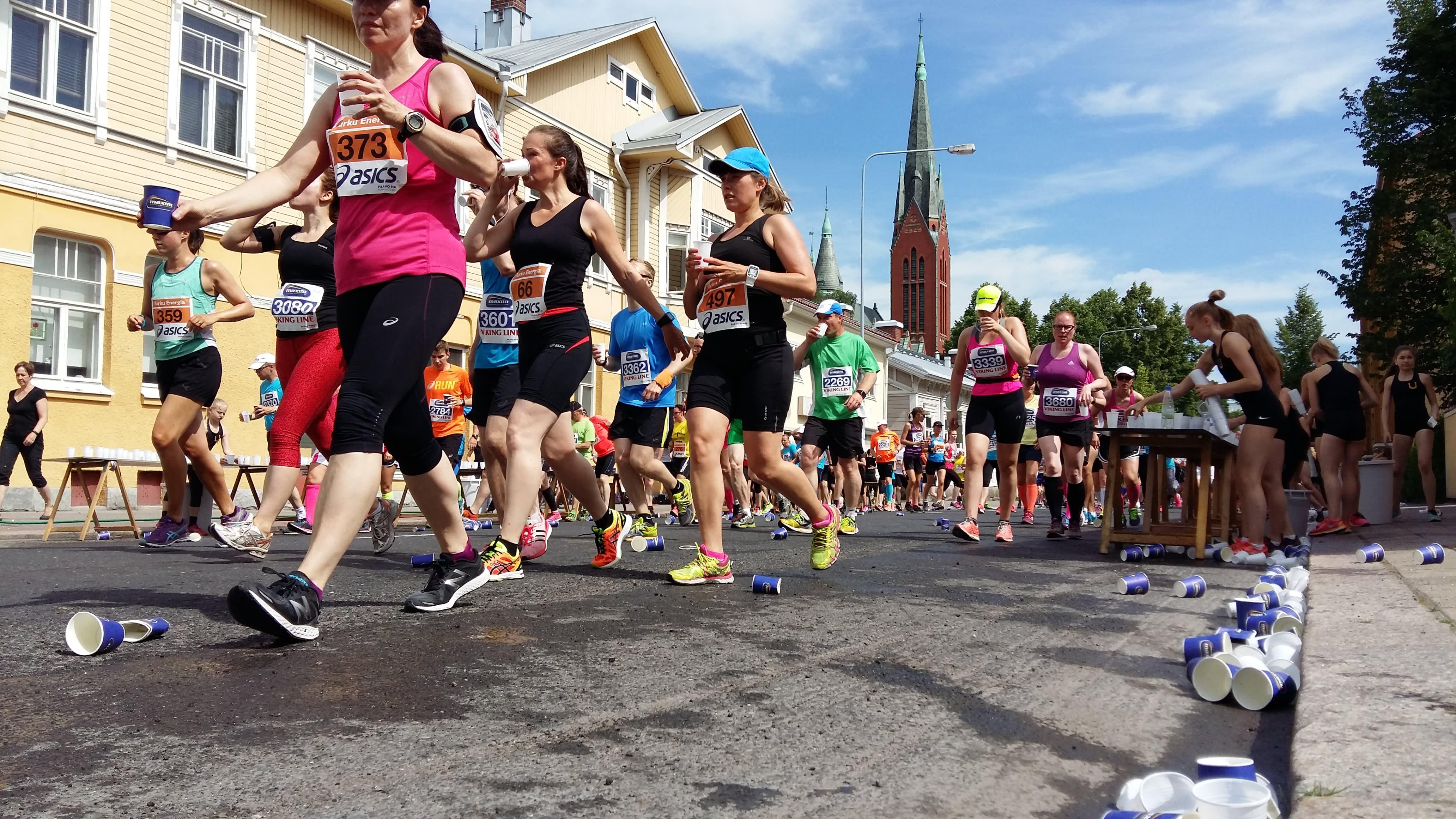 Paavo Nurmi Marathon i Åbo 2016.