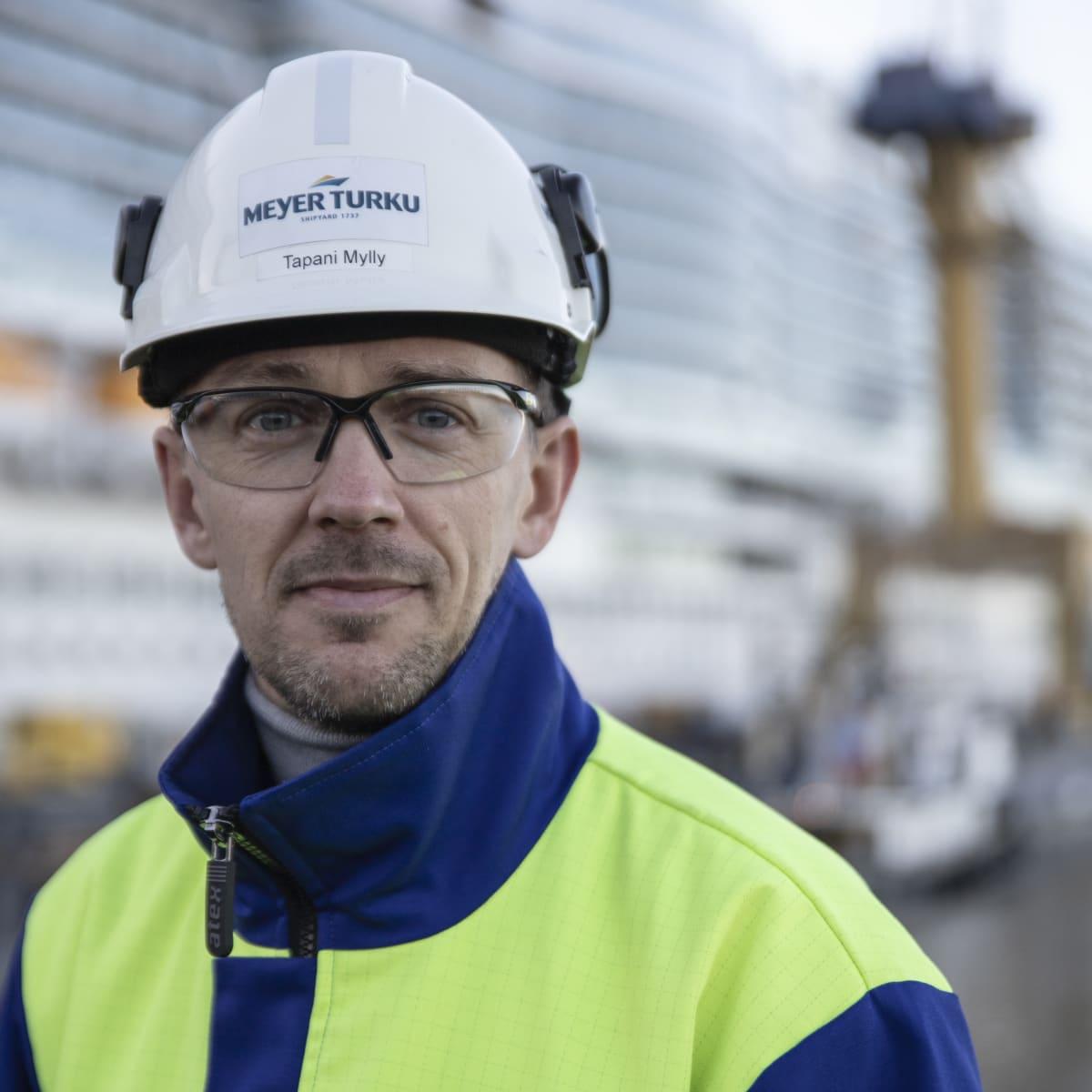 Meyer Turun viestintäpäällikkö Tapani Mylly