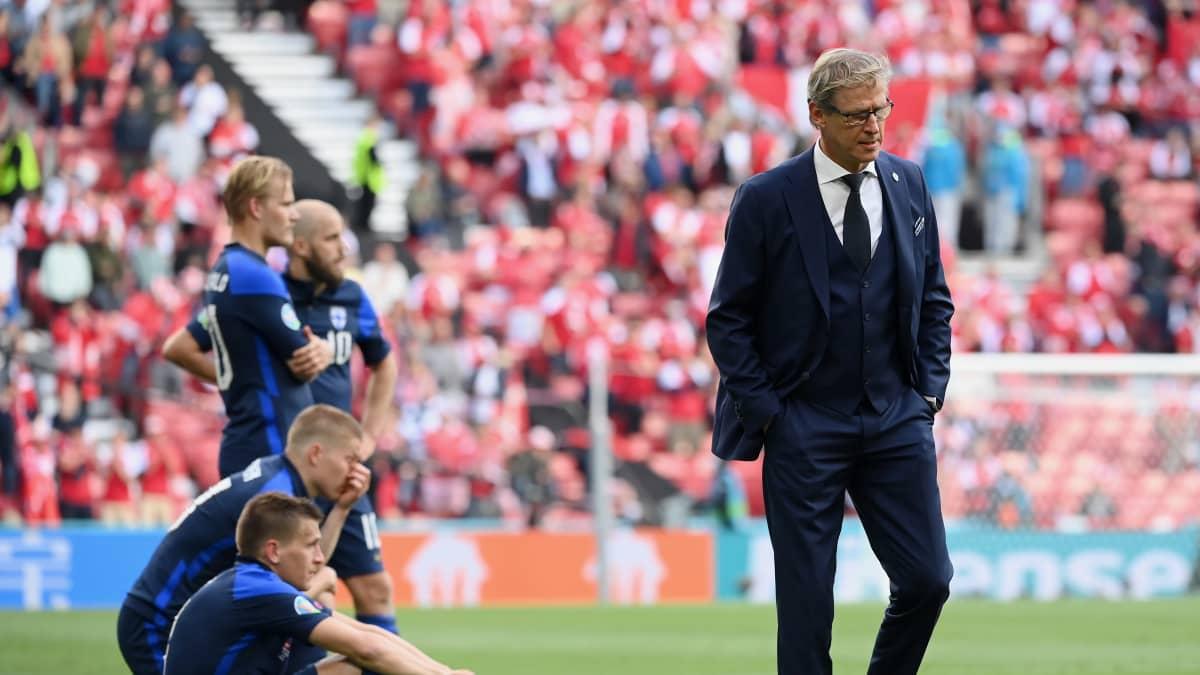 Päävalmentaja Kanerva: Halusimme kunnioittaa Tanskan päätöstä jatkaa peliä