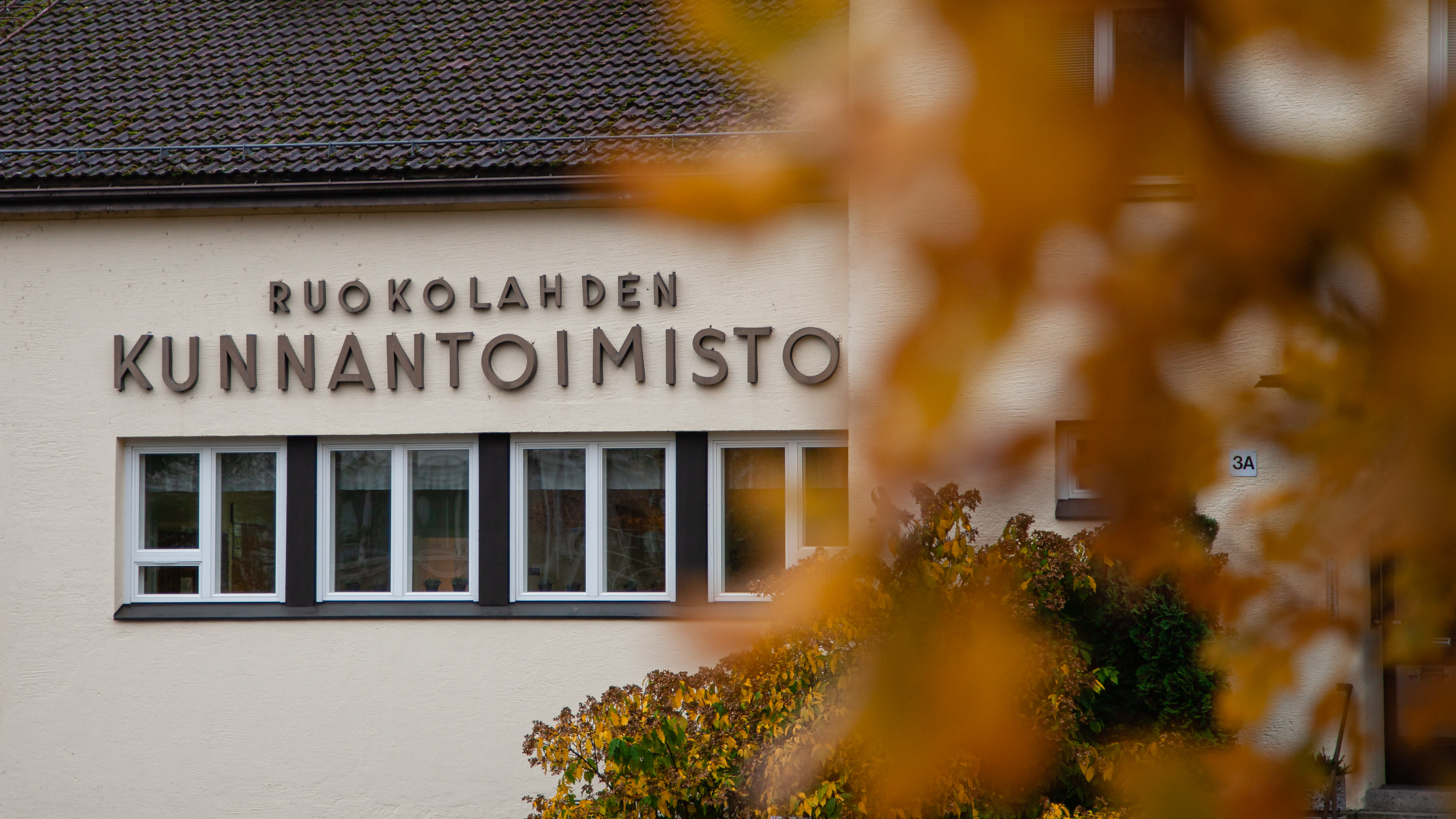 Ruokolahden kunnantalo.