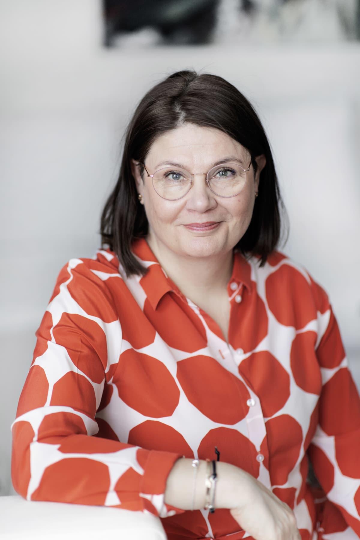 Muistiliiton toiminnanjohtaja Katariina Suomu.
