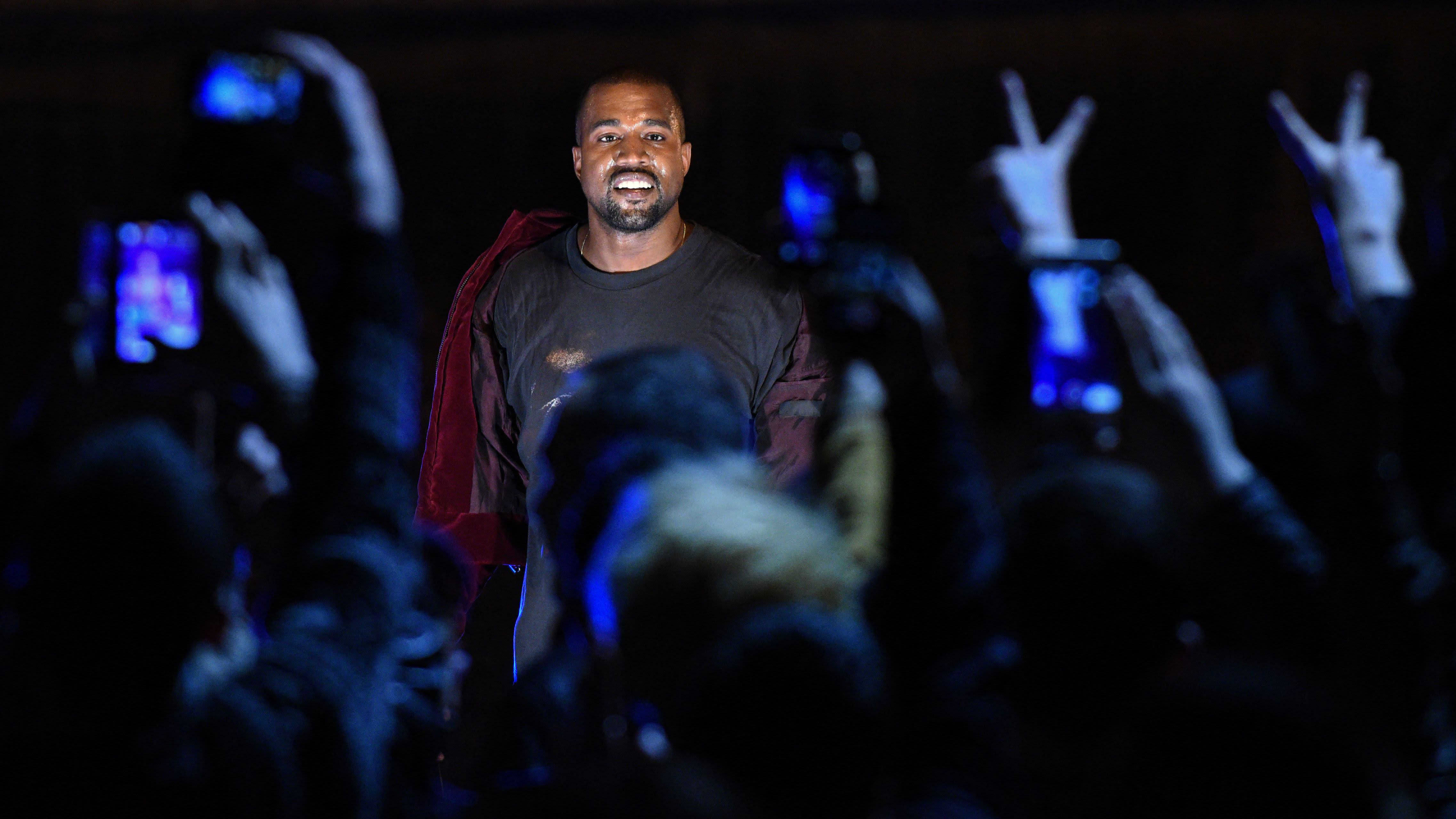 Räppäri, artisti Kanye West.