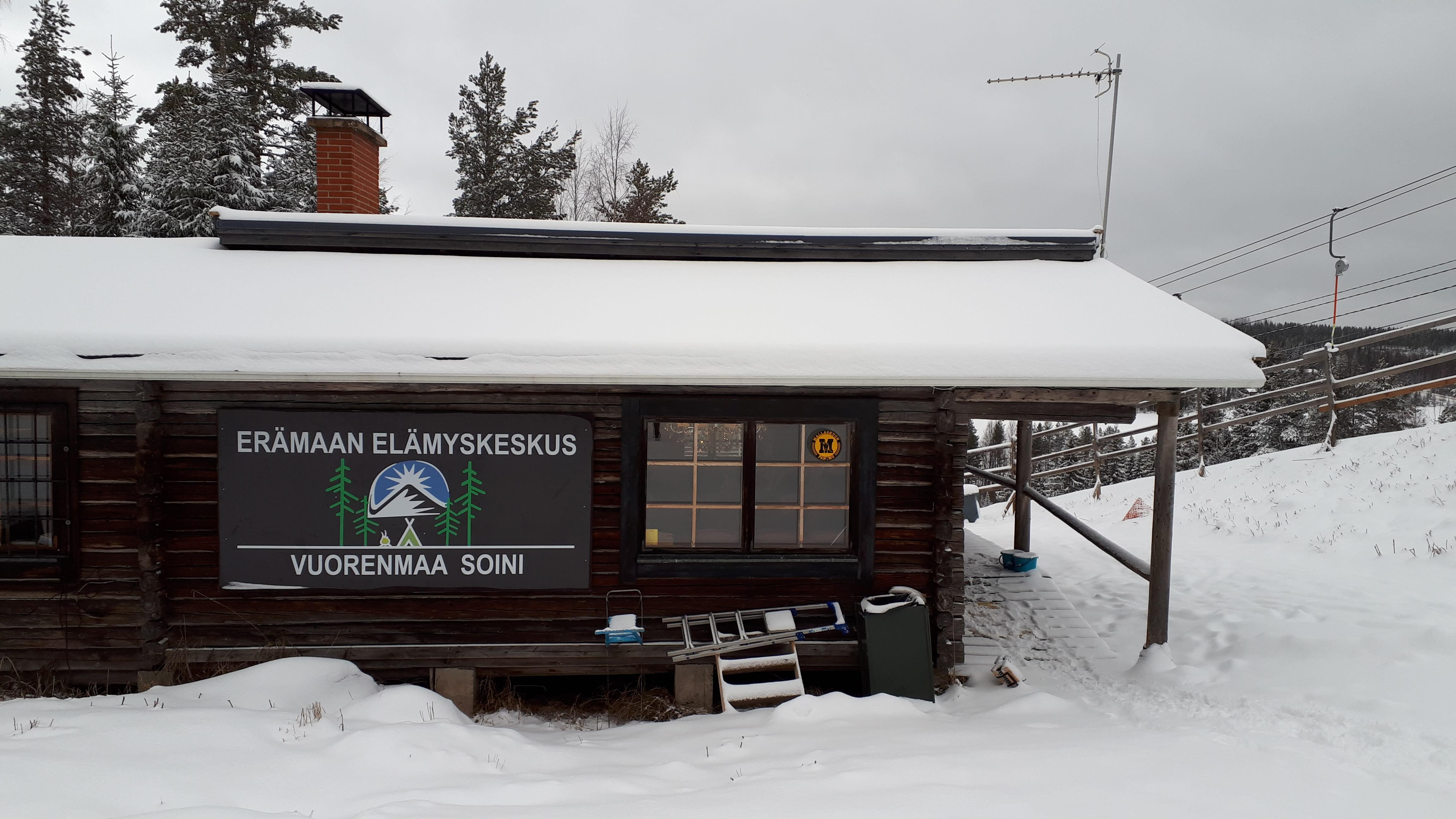 Soinin Vuorenmaata pyörittää tänä talvena Erämaan Elämyskeskus Oy.