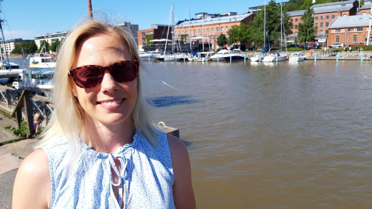 Paraisten matkailupäällikkö Niina Aitamurto.