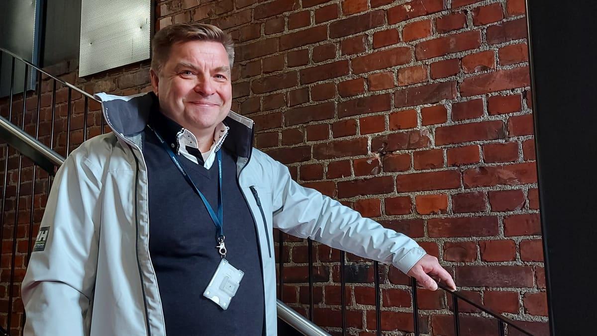 Hämeenlinnan talonrakennuttamispäällikkö Janne Lappalainen