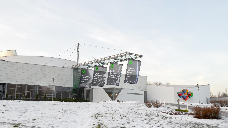 Vetenskapscentret Heureka en vinterdag