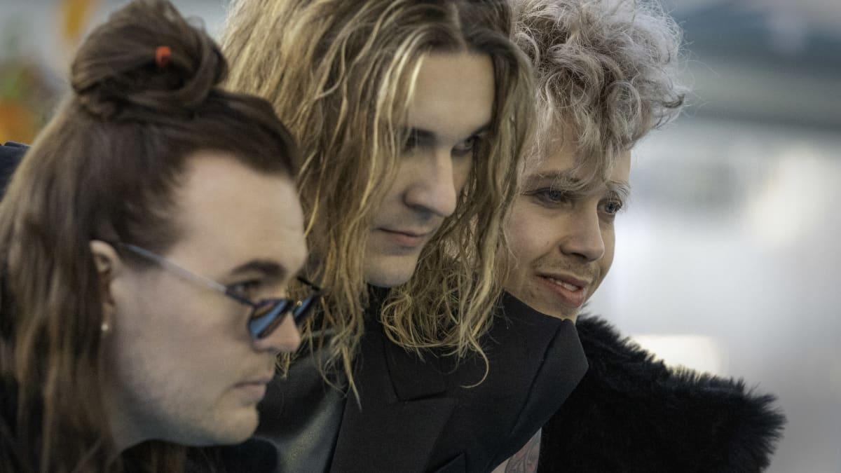 Blind channel euroviisujen avajaisseremoniassa