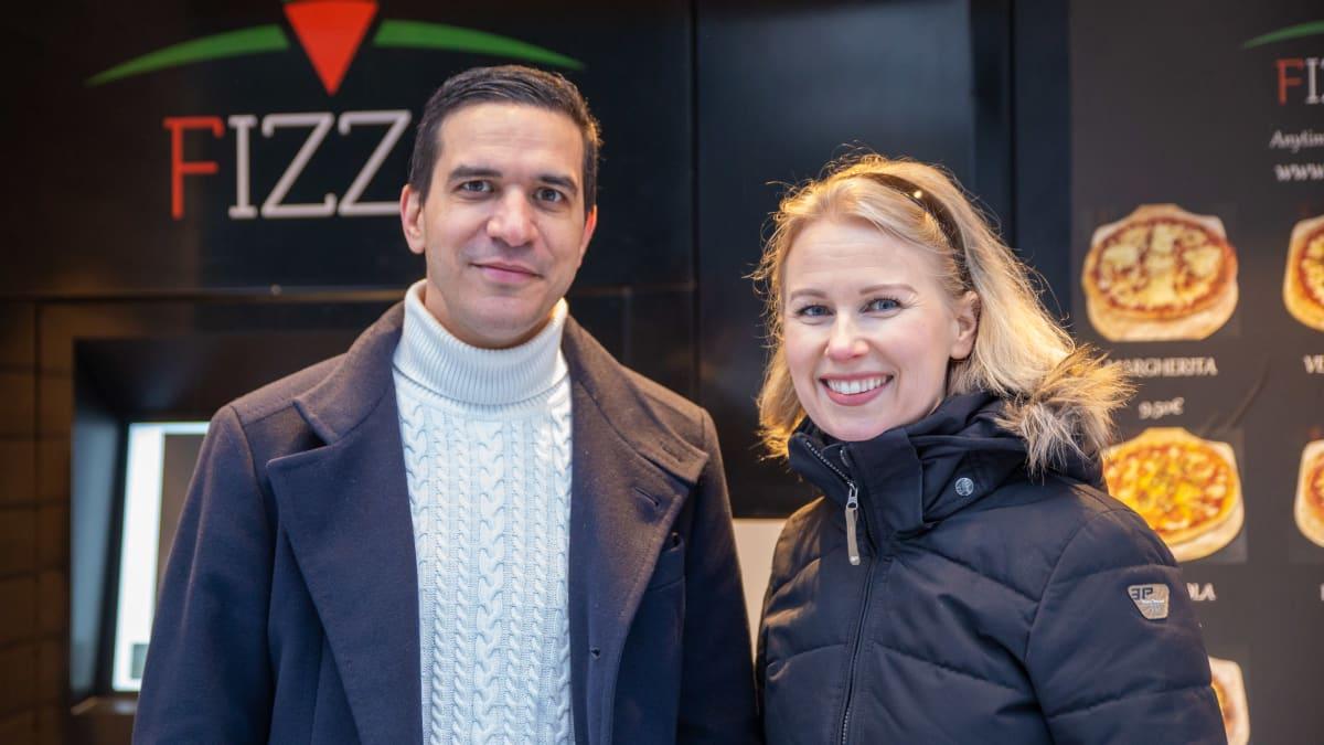 Alexandre ja Saija Benjamin, Fizzan perustajat