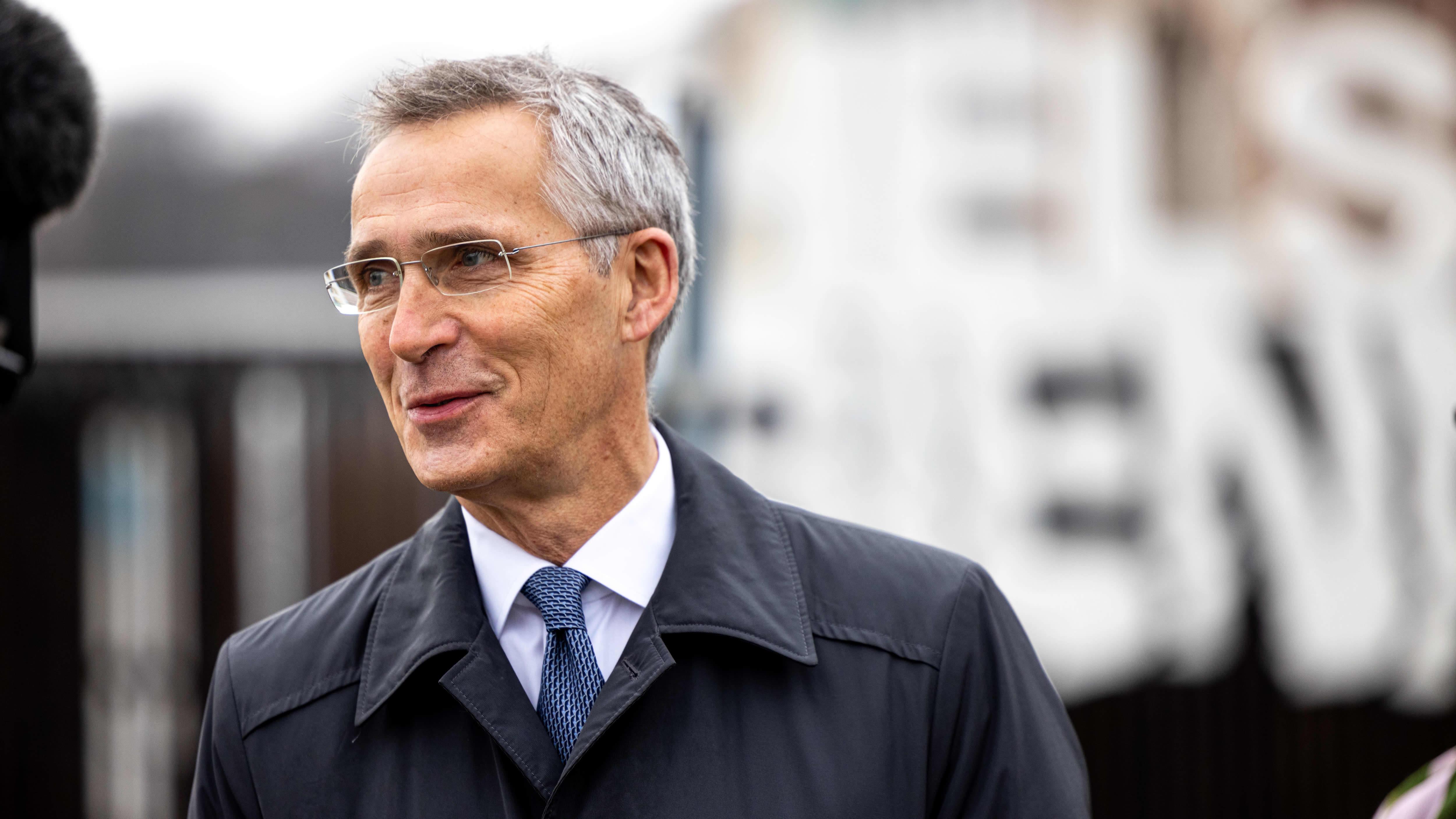 Naton pääsihteerin Jens Stoltenberg.