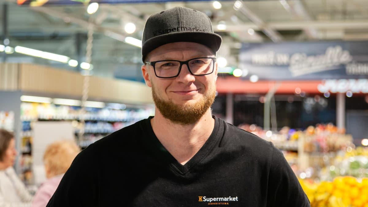 Harri Mattinen, kauppias K-Supermarket IsoKristiina