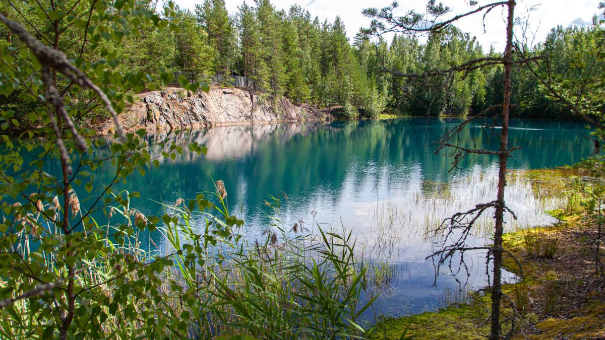 Telkkälän kaivos Taipalsaarella.
