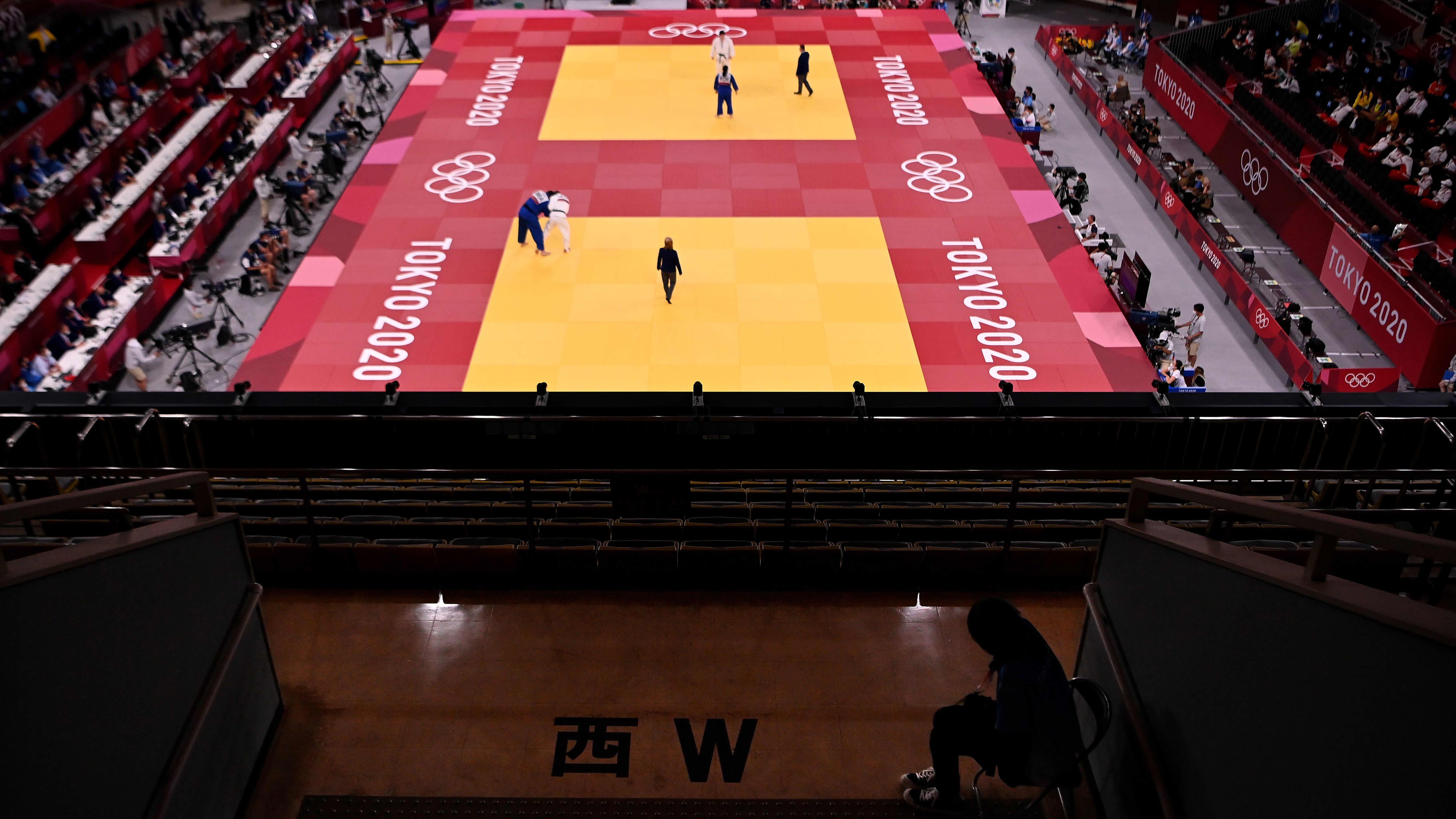 Tokion olympialaisten judohalli