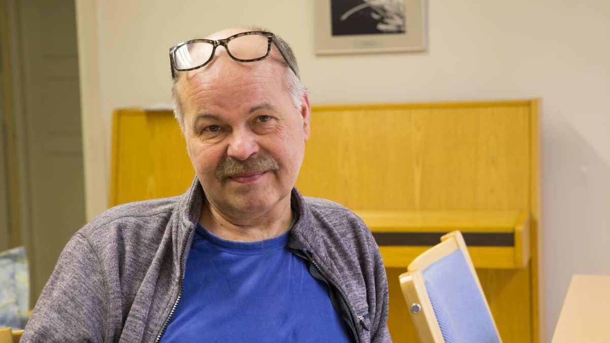 Kyläavustaja Rami Hantula