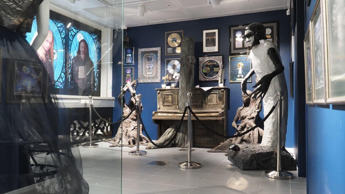 Kiteen Nightwish keskuksen näyttelytila