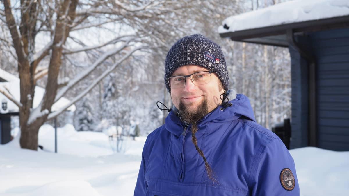 Kimmo Perkkiö, kunnanvaltuutettu, Vihr.