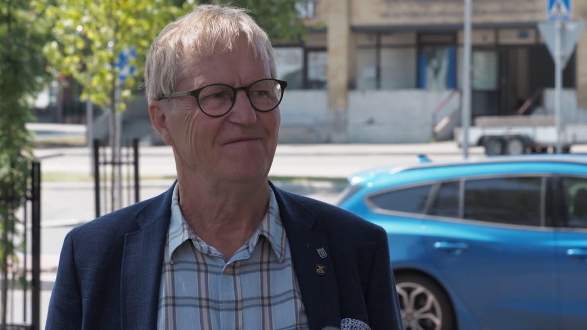 Erkko Nykänen (kesk.) on Siilinjärven kunnanhallituksen puheenjohtaja.
