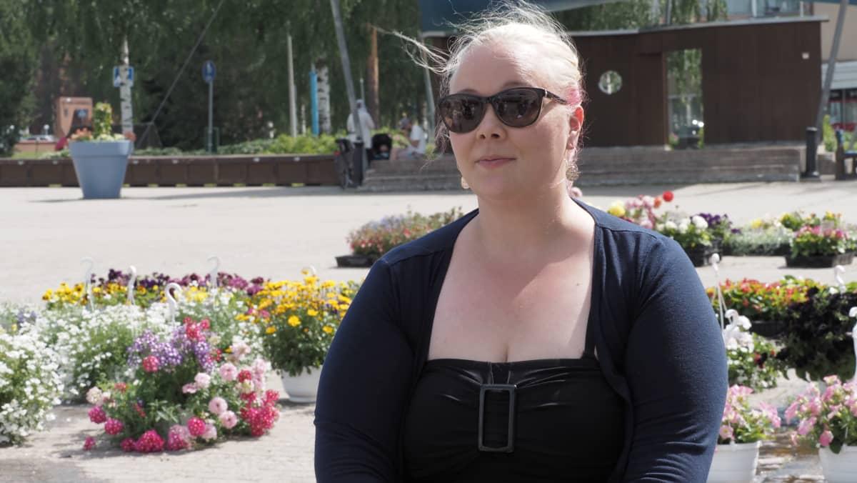 Kiuruveden kaupunginvaltuustoon valittu Leena Pöksyläinen