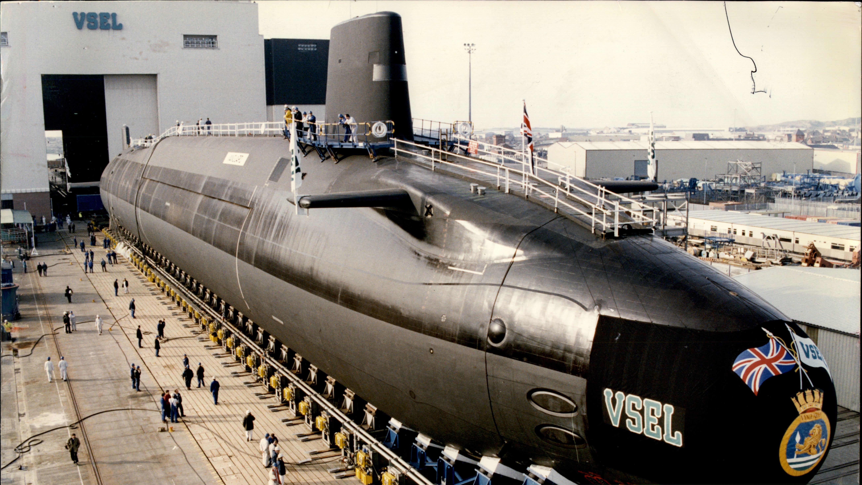 Sukellusvene telakalla