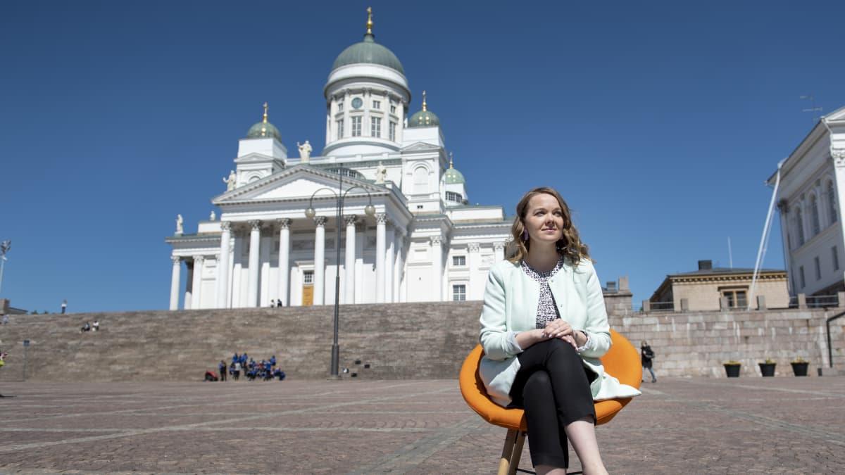 Vieraana valtiovarainministeri Katri Kulmuni