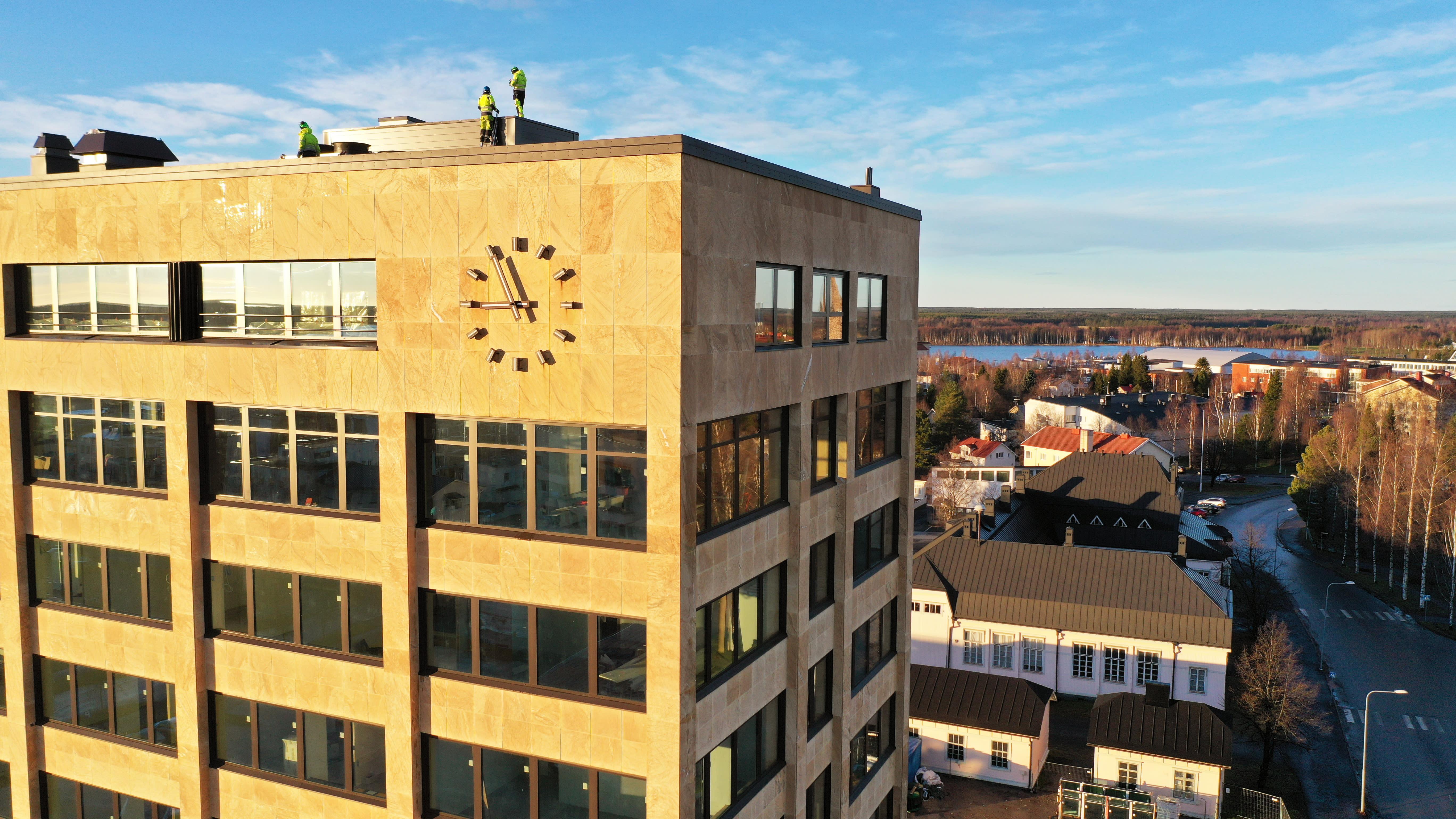 Tornion kaupungintalolla on menossa korjaustyöt