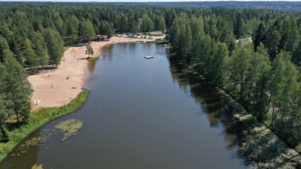 Ankkalampi on suosittu virkistysalue Paimiossa.