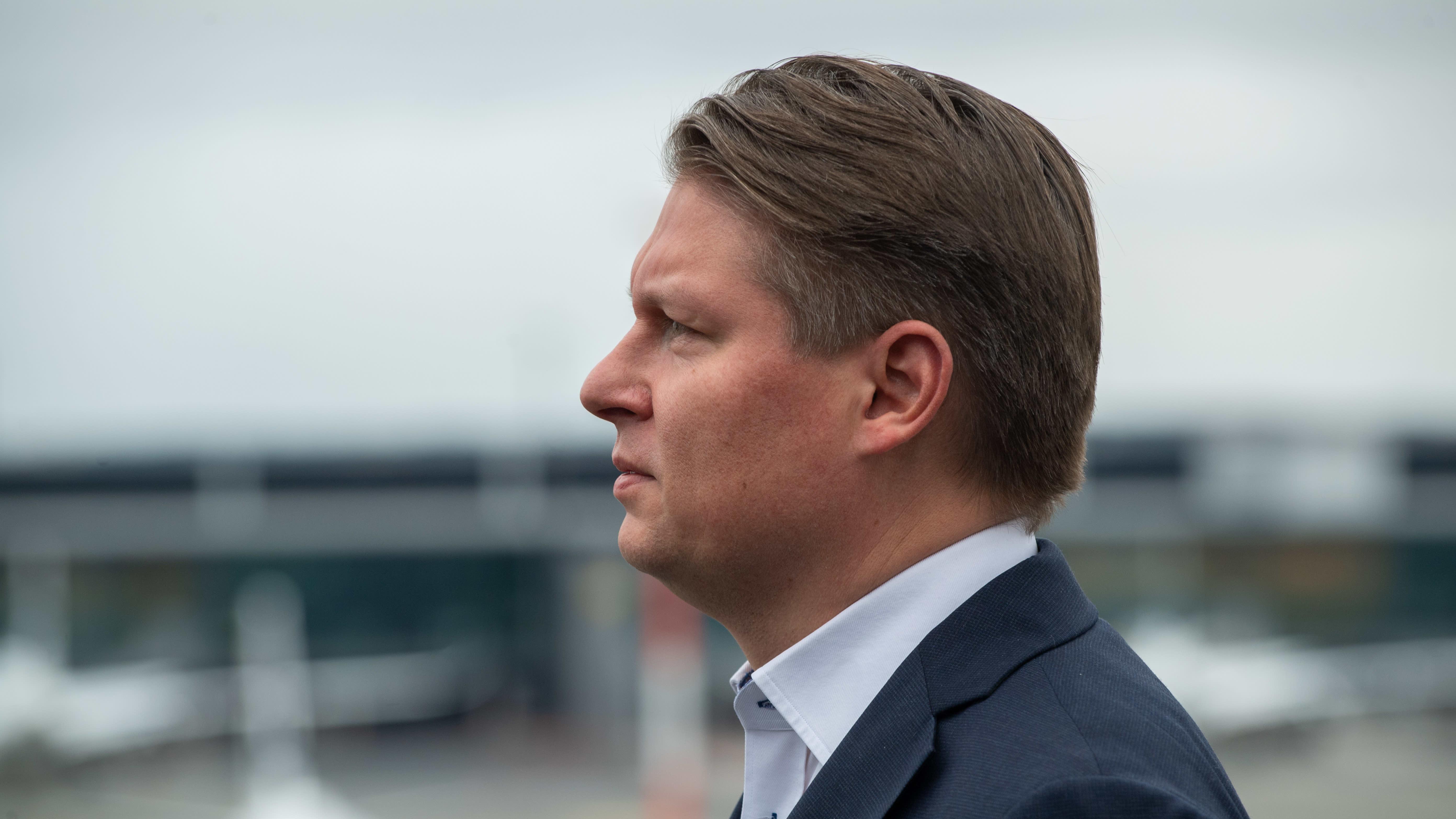 Finnairin toimitusjohtaja Topi Mantere.