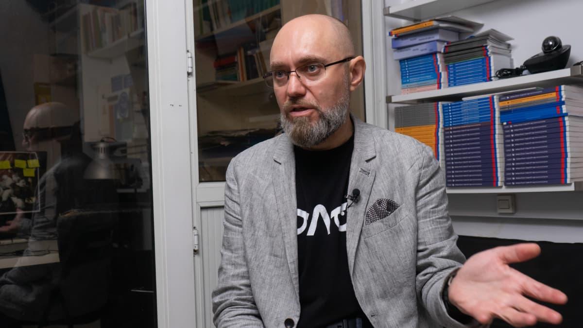 Vaalitarkkailuliike Golosin puheenjohtaja Roman Udot