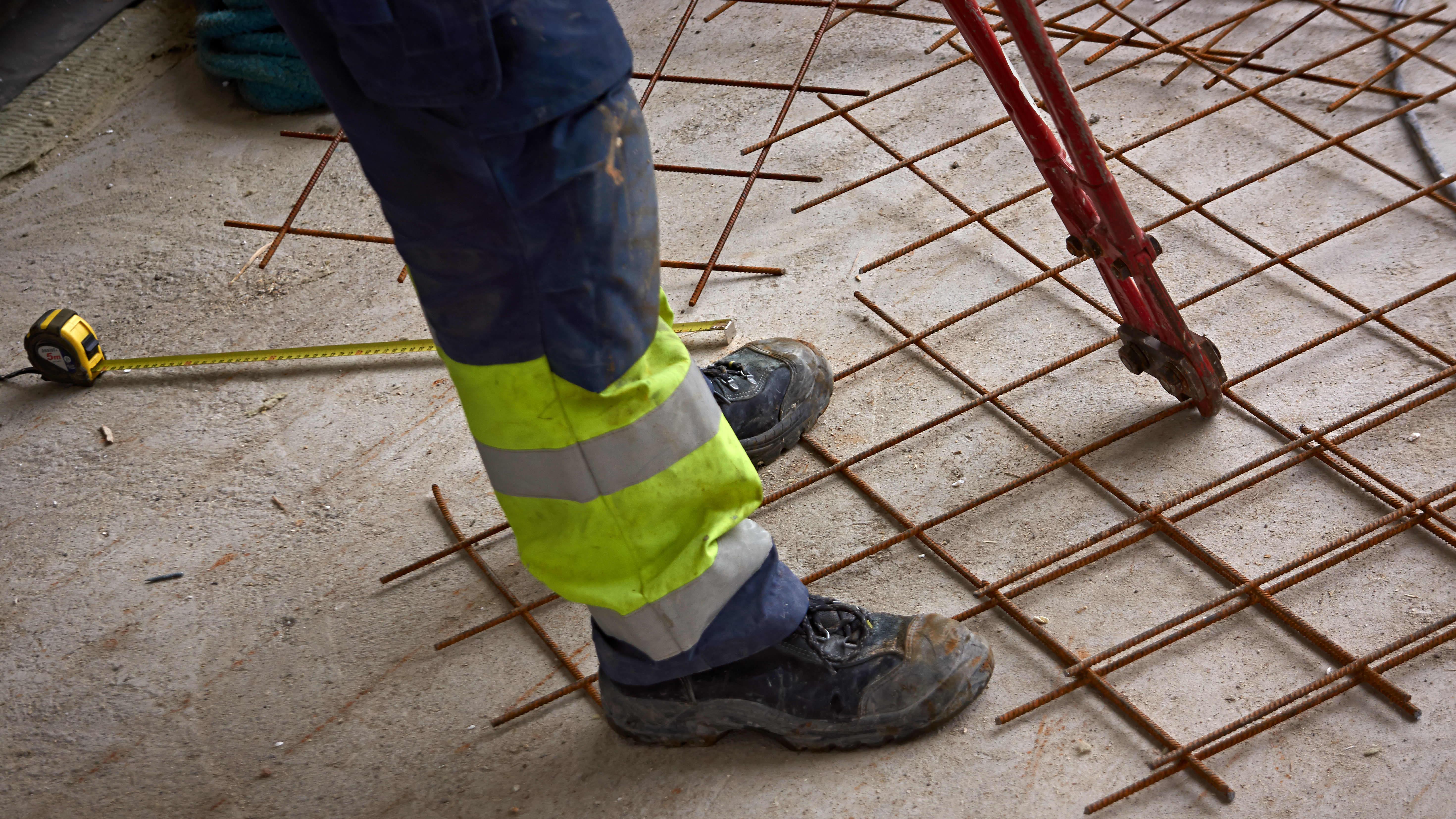 rakennustyömaa, rakennusmies