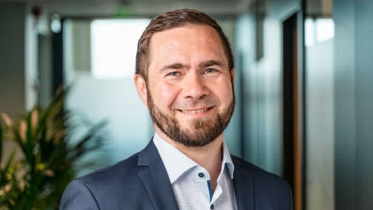 Kuvassa Visma Solutionsin uusi toimitusjohtaja Ville Kuusela