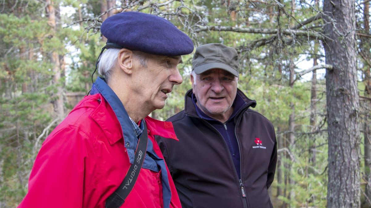 Pertti Rapinoja ja Markku Piekkola.