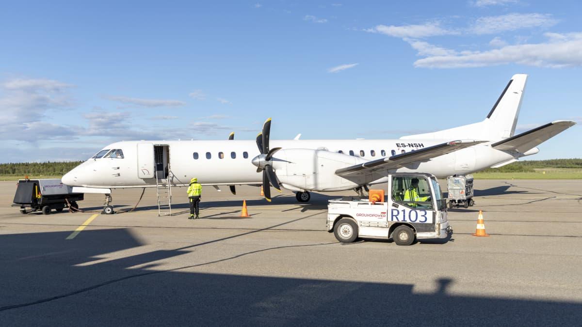 Lentoyhtiö NyxAirin aloitus maakuntakuntakentillä on ollut vaisu