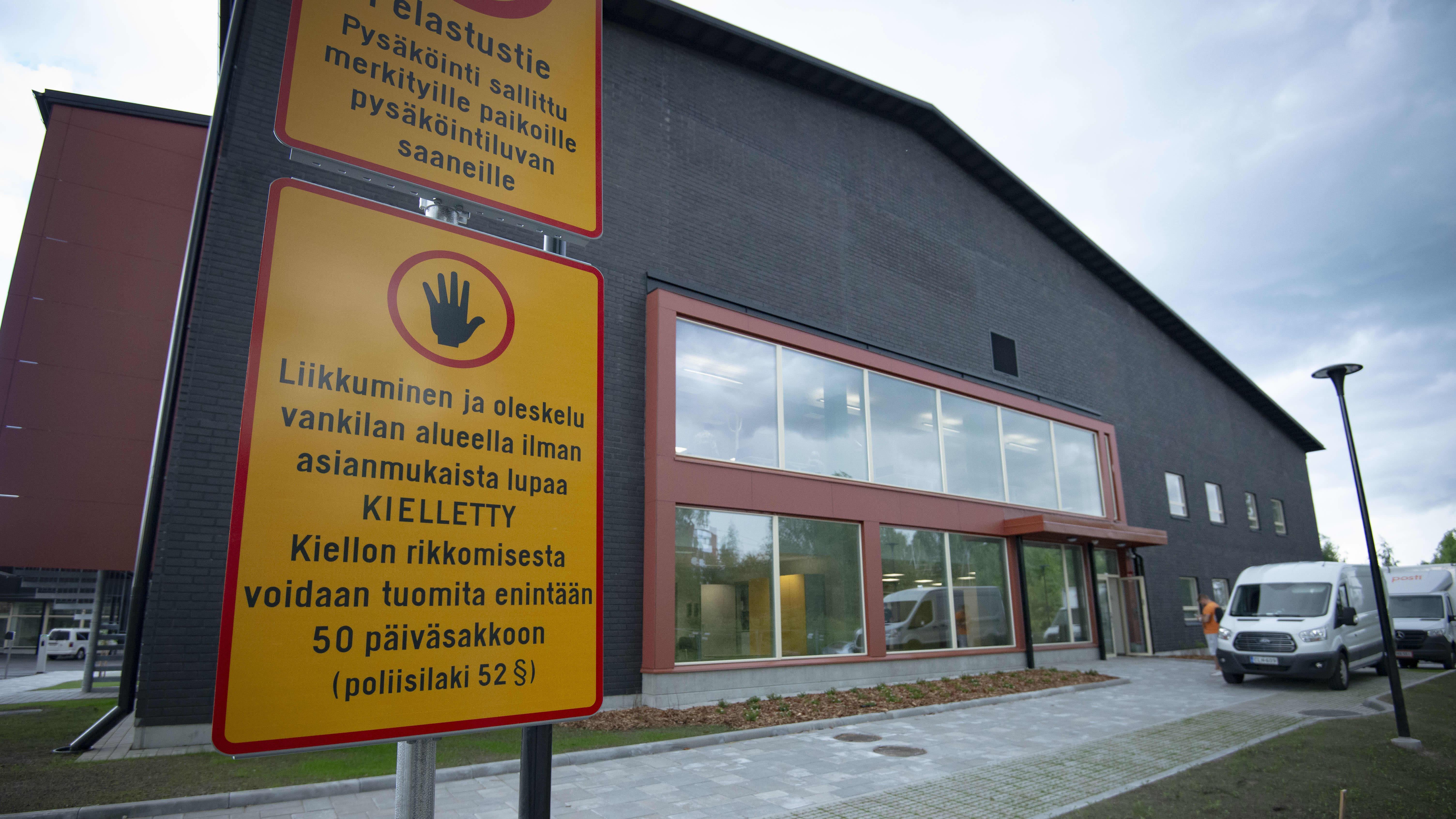Jyväskylän vankila ja yhdykuntaseuraamustoimiston julkisivu