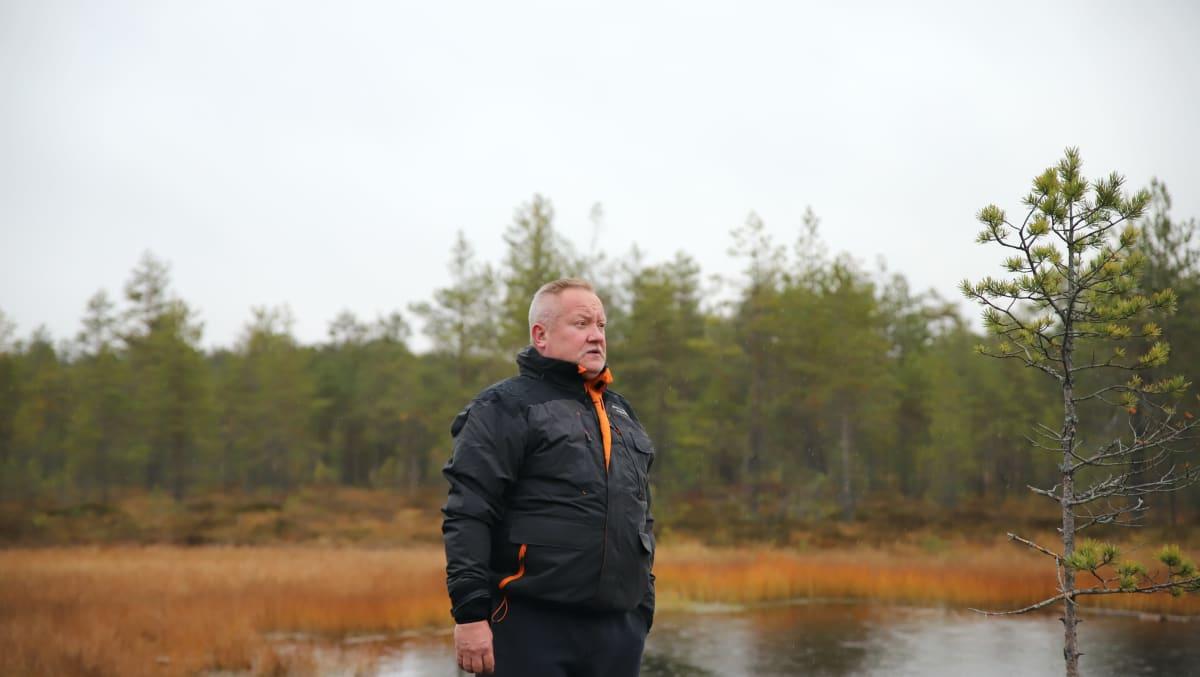 Juha Peltola Hatlamminsuolla Riihimäellä.
