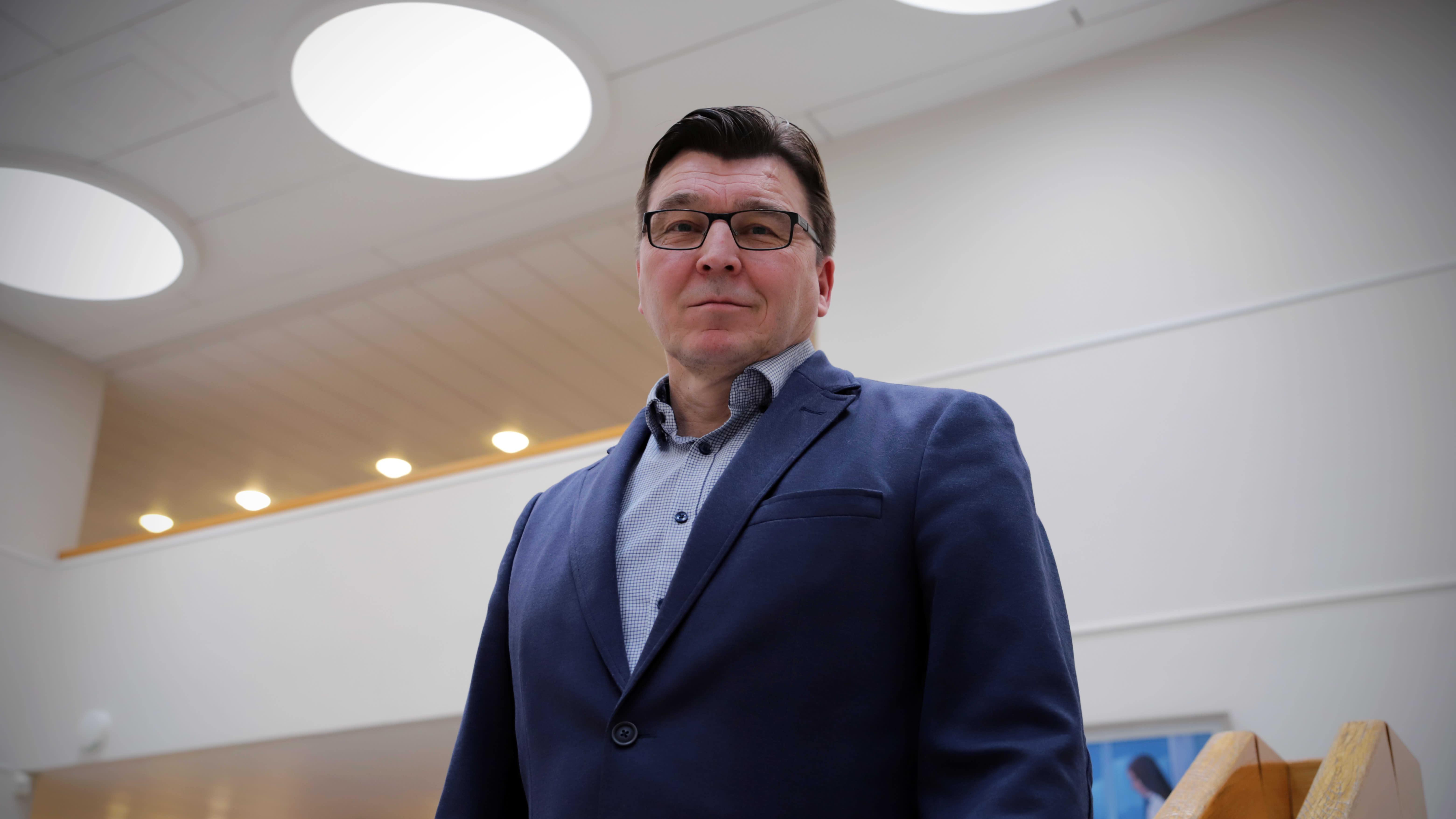 Ilmajoen kunnanjohtaja Seppo Pirttikoski