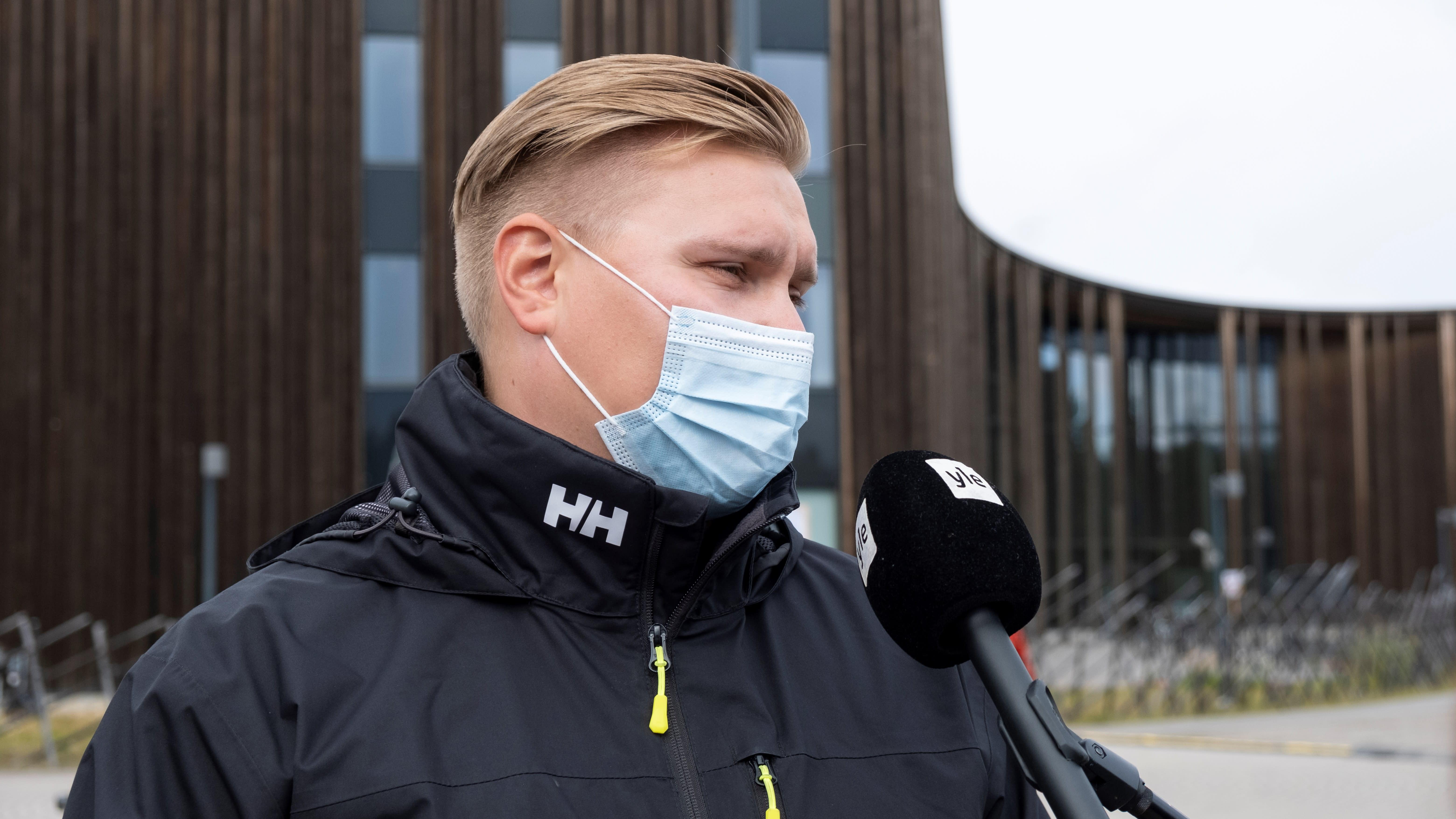 Alkuperäiskansojen musiikkifestivaali Ijahis idjan tuottaja Oula Guttorm.