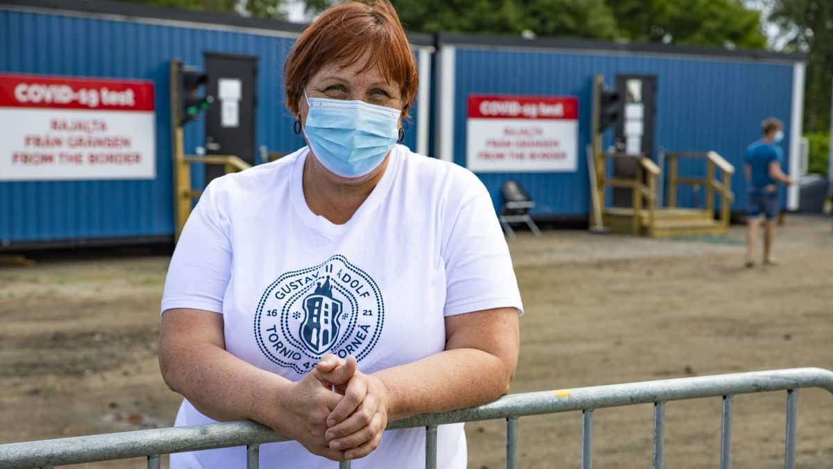 Osastonhoitaja Marianne Junes-Leinonen kertoo, miten rajavalvonnan loppuminen muuttaa käytäntöjä Tornio-Haaparannan rajalla