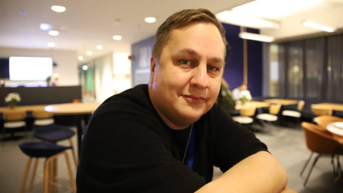 Kyberturvallisuuskeskuksen yksikönpäällikkö Arttu Lehmuskallio