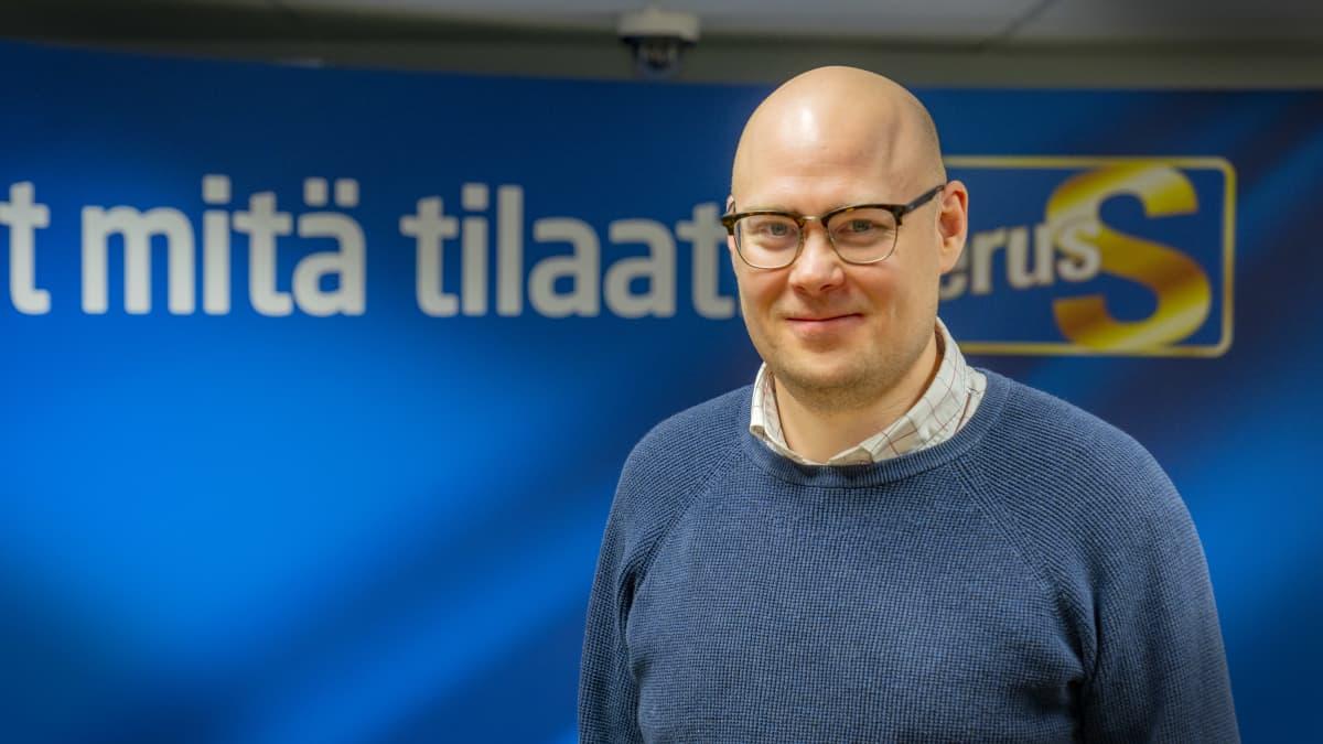 Simo Grönroos, puoluesihteeri, perussuomalaiset