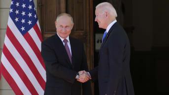 Biden ja Putin ja tapaavat Genevessä